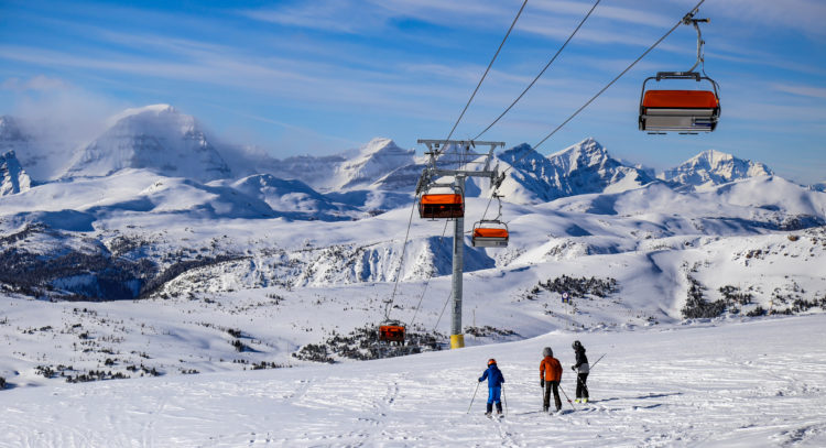 Estaciones de esquí de Banff: los tres grandes