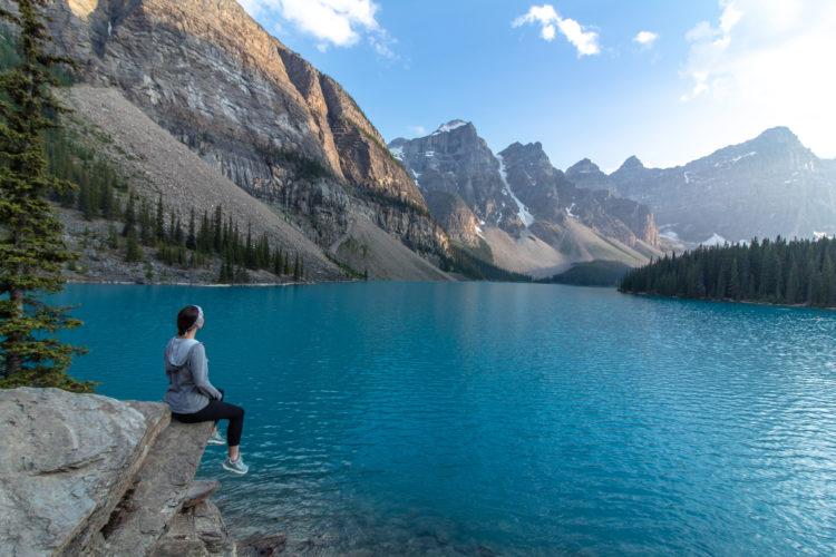Senderismo por los senderos de Banff