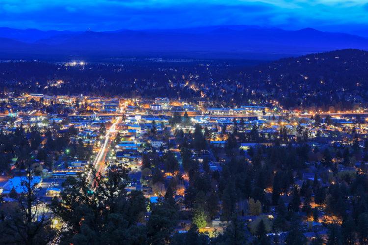Mirador escénico del estado de Pilot Butte