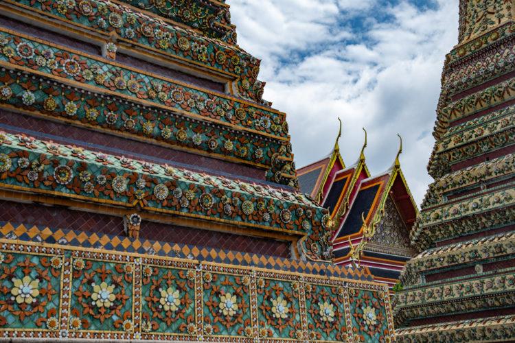 El complejo de templos más antiguo de Bangkok