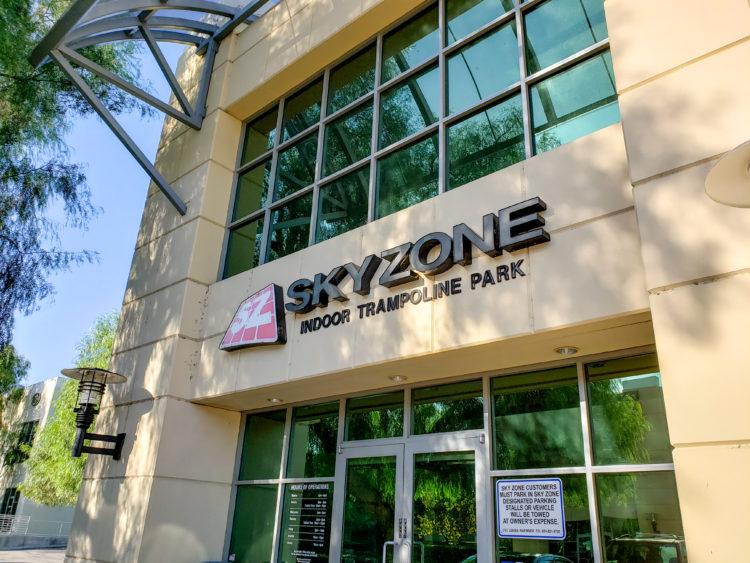Parque de trampolines Sky Zone Anaheim