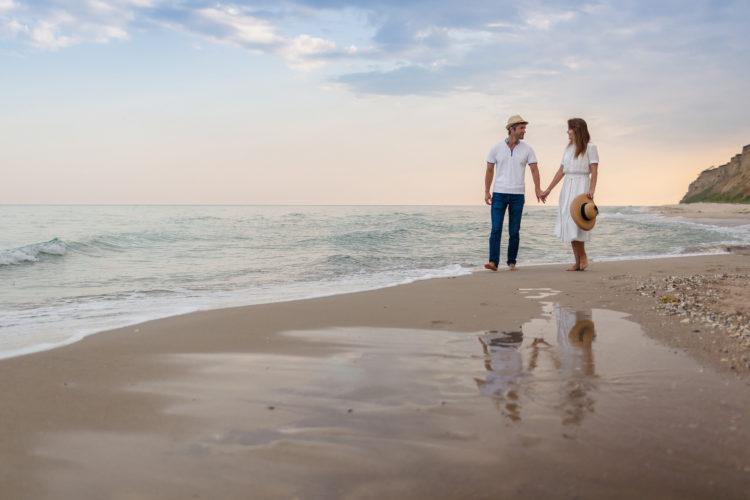 Paseo por la playa