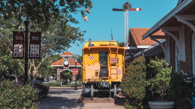 Sendero estatal del ferrocarril histórico de San Marcos