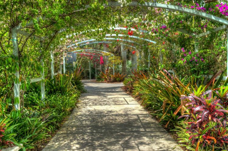 Jardines botánicos de Nápoles