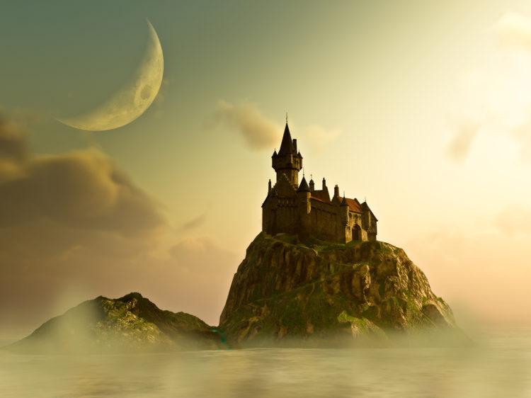 Isla del libro de cuentos