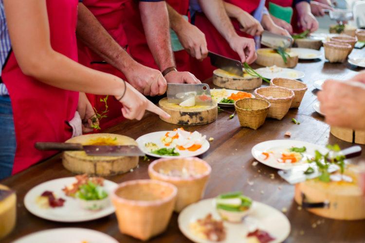 Tour culinario o clase de cocina