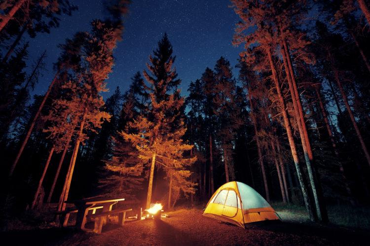 Campamentos en Banff