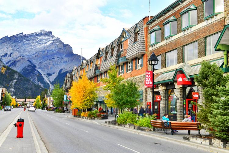 Paseo fantasma de Banff