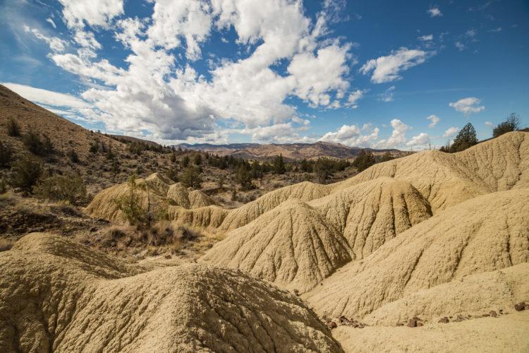 Desierto de Oregon Badlands