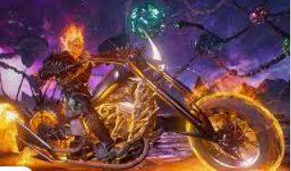 """ss .¿Qué motocicleta se usa en la película """"Ghost Rider""""?"""