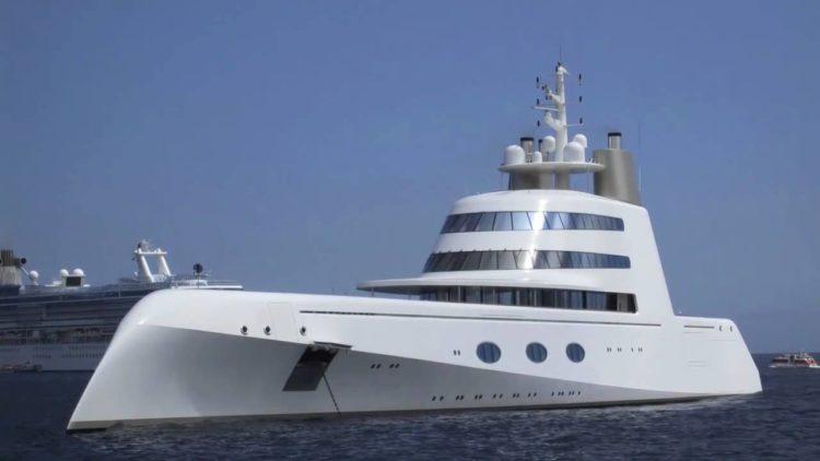 superyacht A Una mirada más cercana al superyate A de $ 323 millones