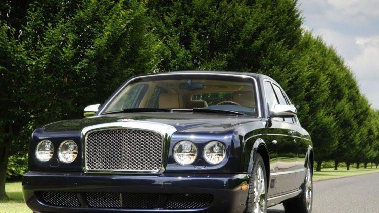 traiiinnn seriesss La historia y evolución del Bentley Arnage